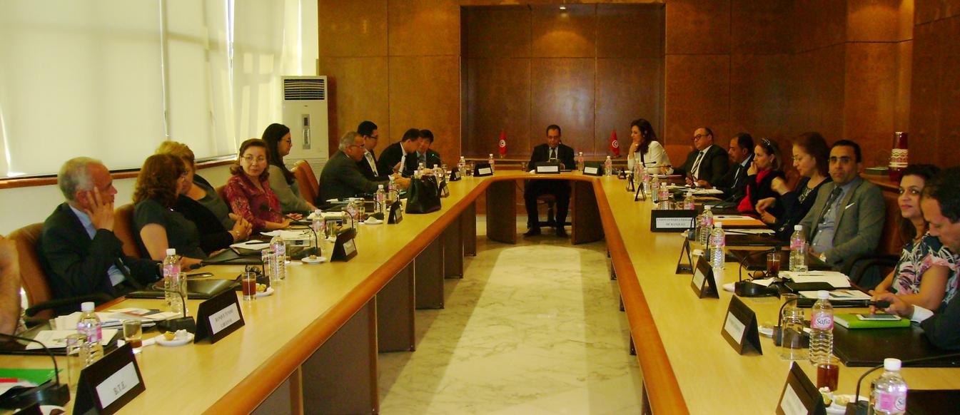 Pour un accord de coopération entre les banques tunisiennes et la banque chinoise de développement